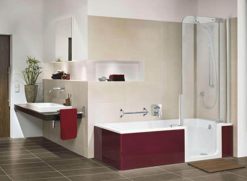 Badewanne Mit Dusche Komplett : badewannen duschen waschplätze ...