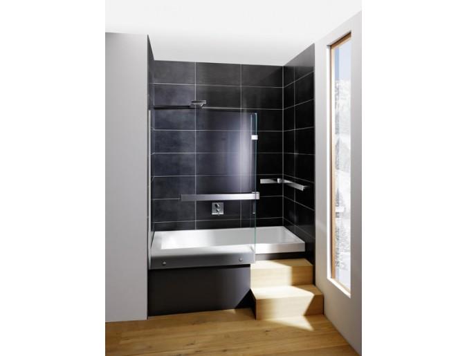 Ganzheitlich vereint - die Duschbadelösung auf engstem Raum spart Platz