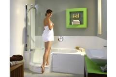 Haltegriff im bad nicht nötig wenn niedriger Einstieg ohne Hürde und Hindernis